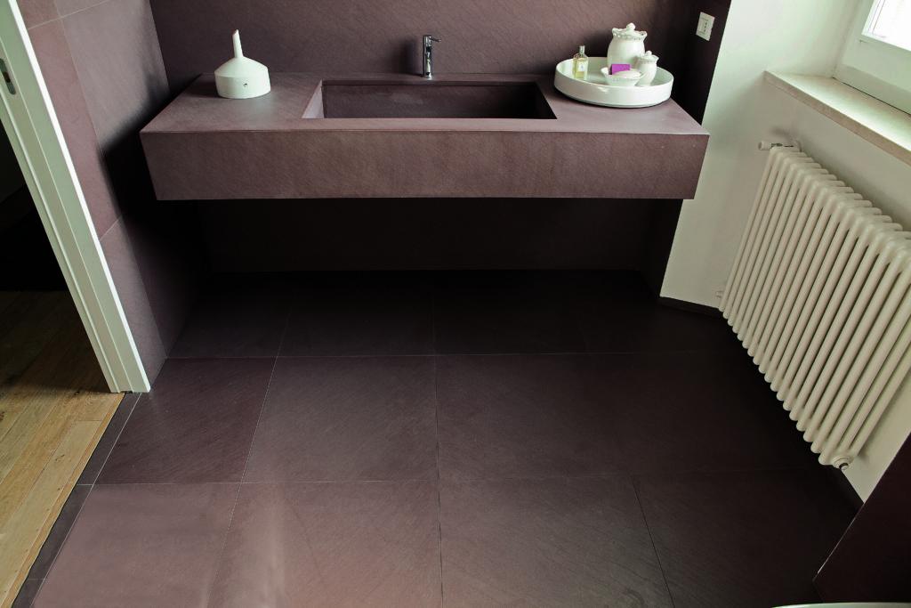 Chocolate pavimento bagno